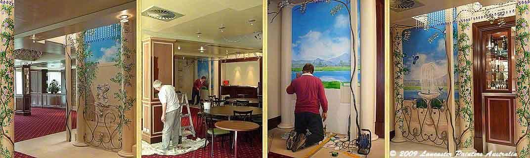 Auchendarroch House SA - Painting & Artistic Work